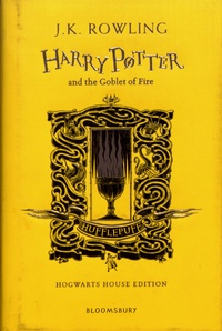 J.K. Rowling - Harry Potter and the Goblet of Fire - Hufflepuff Edition.