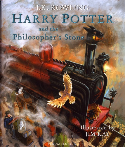 Harry Potter And The Philosopher S Stone Beau Livre