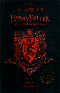 J.K. Rowling - Harry Potter and the Philosopher's Stone - Gryffindor Edition.