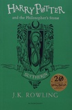 J.K. Rowling - Harry Potter and the Philosopher's Stone - Slytherin Edition.