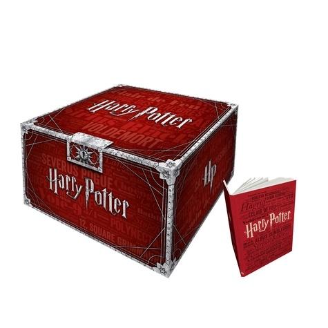 Harry Potter  Coffret intégral en 7 volumes. Avec 1 carnet -  -  Edition collector
