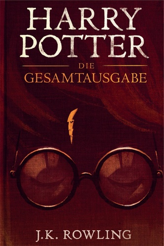 J.K. Rowling et Olly Moss - Harry Potter: Die Gesamtausgabe (1-7).