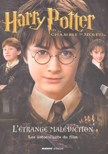 J.K. Rowling - Harry Potter et la Chambre des Secrets : L'étrange malédiction - Les autocollants du film.