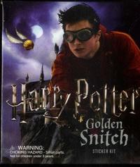 J.K. Rowling - Harry Potter Golden Snitch Sticker Kit.