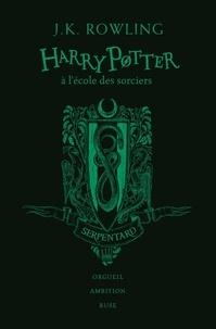 J.K. Rowling - Harry Potter Tome 1 : Harry Potter à l'école des sorciers (Serpentard) - Edition collector 20e anniversaire.