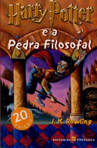 J.K. Rowling - Harry Potter Tome 1 : Harry Potter e a Pedra Filosofal.