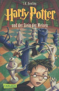 J.K. Rowling - Harry Potter Tome 1 : Harry Potter und der Stein der Weisen.