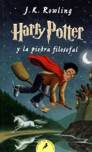 J.K. Rowling - Harry Potter Tome 1 : Harry Potter y la piedra filosofal.