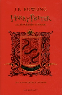 J.K. Rowling - Harry Potter Tome 2 : Harry Potter and the Chamber of Secrets - Gryffindor 20th Anniversary Edition.
