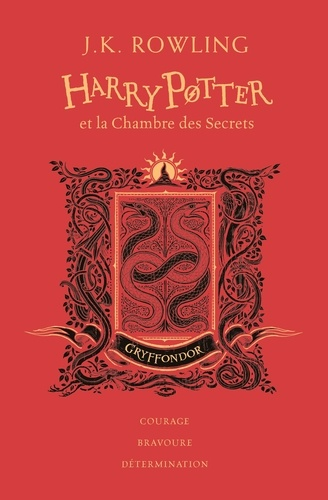 Harry Potter Tome 2 Harry Potter et la chambre des secrets (Gryffondor) -  -  Edition collector