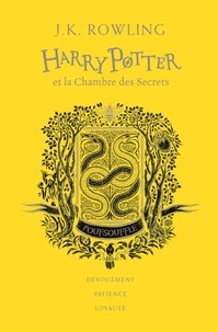 J.K. Rowling - Harry Potter Tome 2 : Harry potter et la chambre des secrets (Poufsouffle).