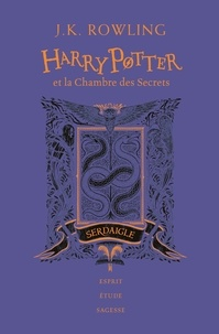 J.K. Rowling - Harry Potter Tome 2 : Harry Potter et la chambre des secrets (Serdaigle).
