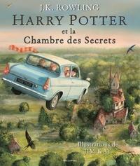 J.K. Rowling et Jim Kay - Harry Potter Tome 2 : Harry Potter et la Chambre des Secrets.
