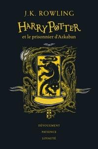 J.K. Rowling - Harry Potter Tome 3 : Harry Potter et le prisonnier d'Azkaban (Poufsouffle).