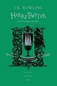 J.K. Rowling - Harry Potter Tome 4 : Harry Potter et la coupe de feu (Serpentard).