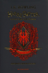 J.K. Rowling - Harry Potter Tome 5 : Harry Potter and the Order of the Phoenix - Gryffindor edition.