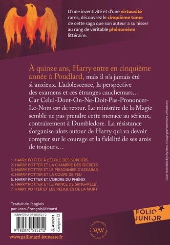 Harry Potter Tome 5 Harry Potter et l'Ordre du Phénix