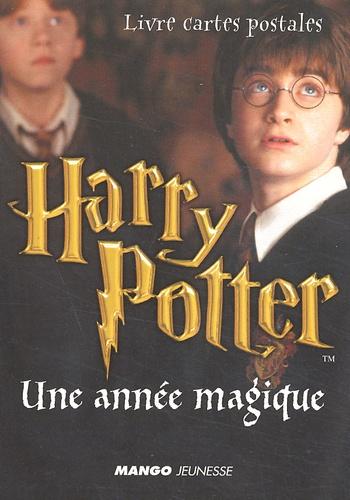 J.K. Rowling - Harry Potter : Une année magique. - Livre cartes postales.