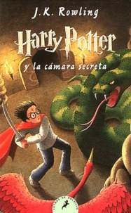 J.K. Rowling - Harry Potter y la càmara secreta.