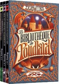 J.K. Rowling - La bibliothèque de Poudlard - Coffret en 2 volumes : Le Quidditch à travers les âges ; Les animaux fantastiques ; Les contes de Beedle le barde.