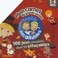 J-L Broust - Mon carnet de grande section ; 5-6 ans.