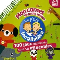 J-L Broust - Mon carnet de petite section ; 3-4 ans.
