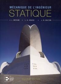 Goodtastepolice.fr Mécanique de l'ingénieur - Volume 1, Statique version SI Image
