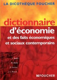 Dictionnaire d'économie et des faits économiques et sociaux contemporains - J-L Rivaud | Showmesound.org