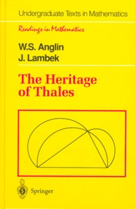J Lambek et W-S Anglin - The Heritage of the Thales.