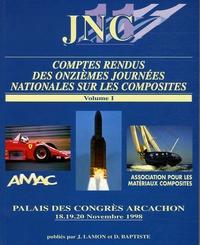 J Lamon - Comptes-rendus des onzièmes journées nationales sur les composites en 3 volumes - JMC 11, 18-19-20 Novembre 1998.