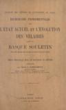 J. Larrasquet et F. Brunot - Recherches expérimentales sur l'état actuel et l'évolution des vélaires dans le Basque Souletin - Thèse principale pour le doctorat ès lettres.