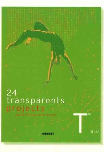J Larroza - Anglais Tle Projects - 24 transparents.