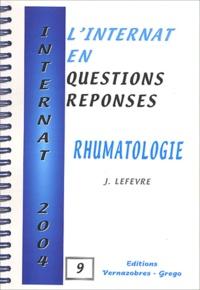 J Lefevre - Rhumatologie.