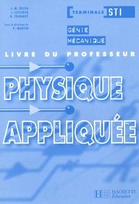 J-M Delva et J Leclercq - Physique appliquée Te STI - Génie mécanique, Livre du professeur.