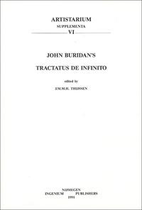 J-M Thijssen - John Buridan's Tractatus de infinito.