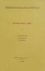 J. Monchanin et Jean Filliozat - Entretiens 1955.