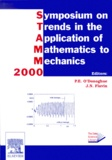 J-N Flavin et P-E O'donoghue - STAMM 2000 : Symposium on Trends in the Application of Mathematics to Mechanics.