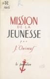 J. Onimuf - Mission de la jeunesse.