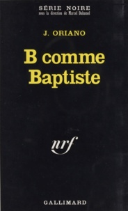 J Oriano - B comme Baptiste.
