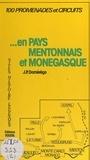 J.-P. Domérégo - En pays mentonnais et monégasque - Sites historiques légendes.