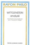 J-P Leyvraz et  Collectif - Wittgenstein analysé.