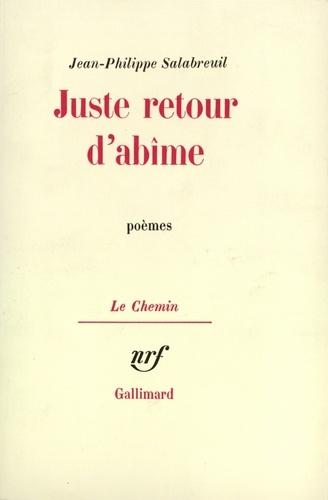 JUSTE RETOUR D'ABIME