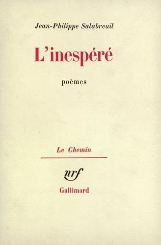 L'INESPERE, POEMES