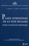 J Paineau - Plaies iatrogènes des voies billiaires - Rapport présenté au 113e congrès français de chirugrgie, Paris 5-7 octobre 2011.