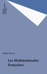 J Savary - Les Multinationales françaises.