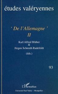 J. Schmidt-radefeldt - De l'allemagne ii.