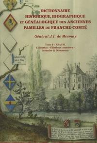 Deedr.fr Dictionnaire historique, biographique et généalogique des anciennes familles de Franche-Comté - 3 volumes Image
