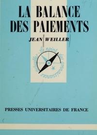 J Weiller - La Balance des paiements.