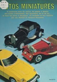 Jac Remise et Jacques Rousseau - Autos miniatures.