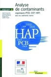 Jacek Tronczynski - Analyse des contaminants organiques (PCB, OCP, HAP) dans les sédiments marins.